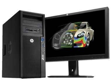 Brugt HP Z420 Workstation - Super billig pris på Z420 Workstation